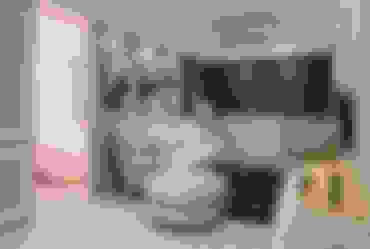 文山高公館:  客廳 by VH INTERIOR DESIGN