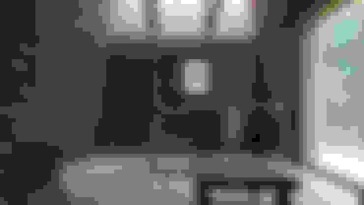 Cabaña de las Chimeneas de Luz: Comedores de estilo  por 2712 / asociados
