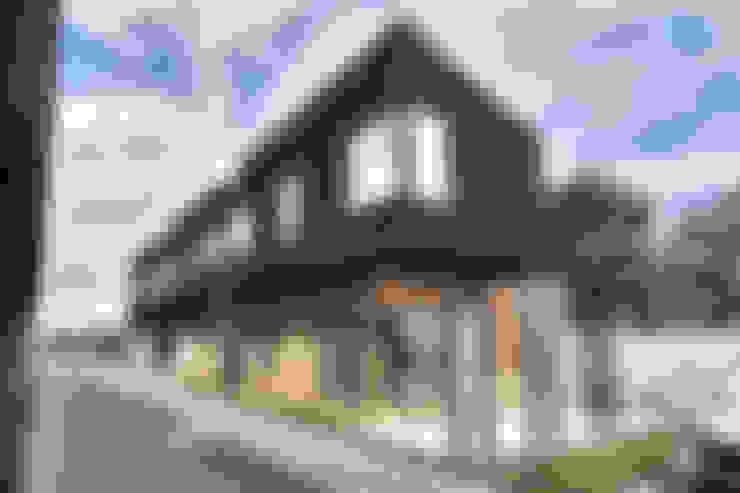 Exterior - Fachadas: Condominios de estilo  por NidoSur Arquitectos - Valdivia