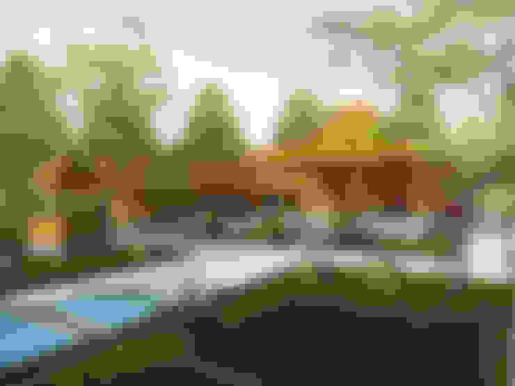 Joglo. sleman yogyakarta:   by Chans Architect
