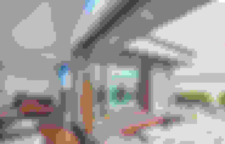 客廳 by 주식회사 착한공간연구소