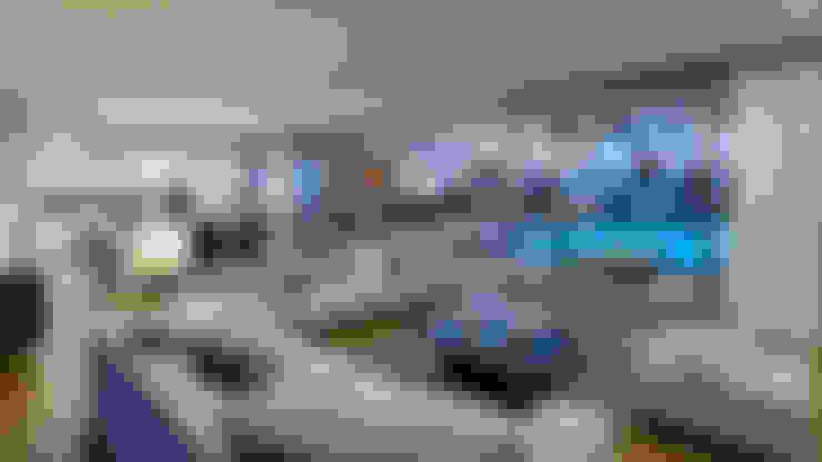 غرفة المعيشة تنفيذ Traçado Regulador. Lda