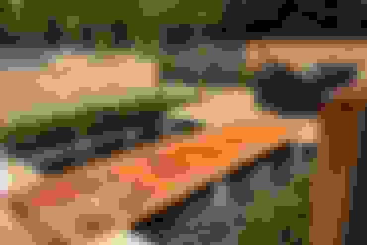 庭院 by Hannah Collins Garden Design