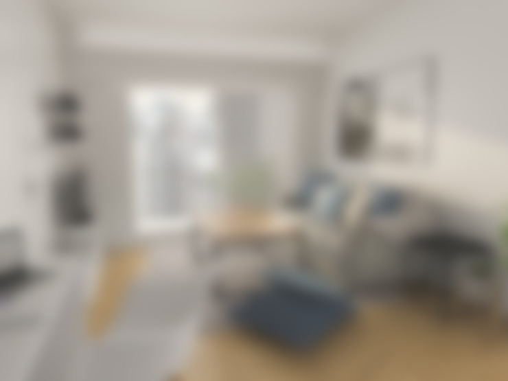 Living room by Bhavana