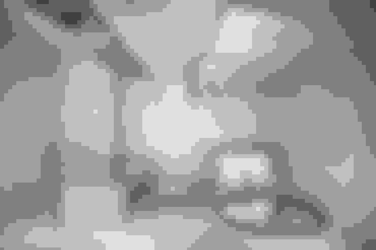 Квартира 45 кв.м. в скандинавском стиле в ЖК Рассказово.: Ванные комнаты в . Автор – Студия архитектуры и дизайна Дарьи Ельниковой