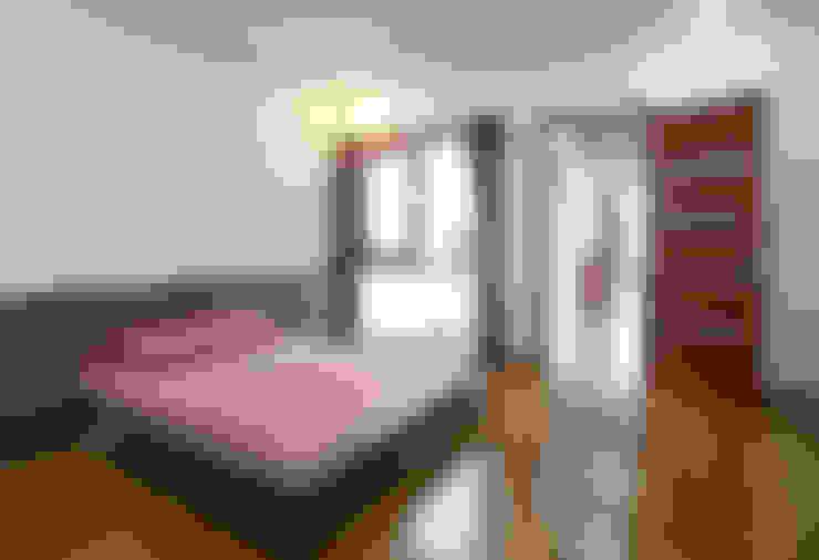 Thiết Kế Nhà Ống 2 Tầng 790 Triệu Gần Gũi Với Thiên Nhiên:  Phòng ngủ by Công ty TNHH Xây Dựng TM – DV Song Phát