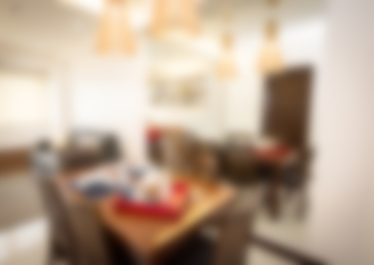 Salle à manger de style  par TG Designing Corner