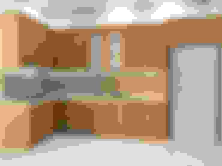 kitchen set design:   by Eswae Interior