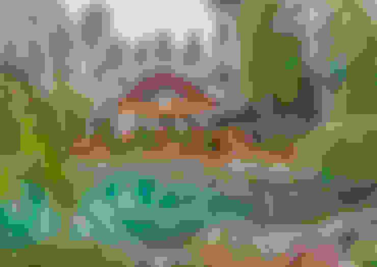 ПАН Ландшафт의  정원 연못