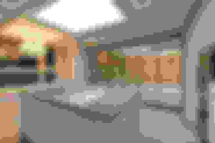 66평 강서구 엘크루블루오션 - 부산: 노마드디자인 / Nomad design의  다이닝 룸