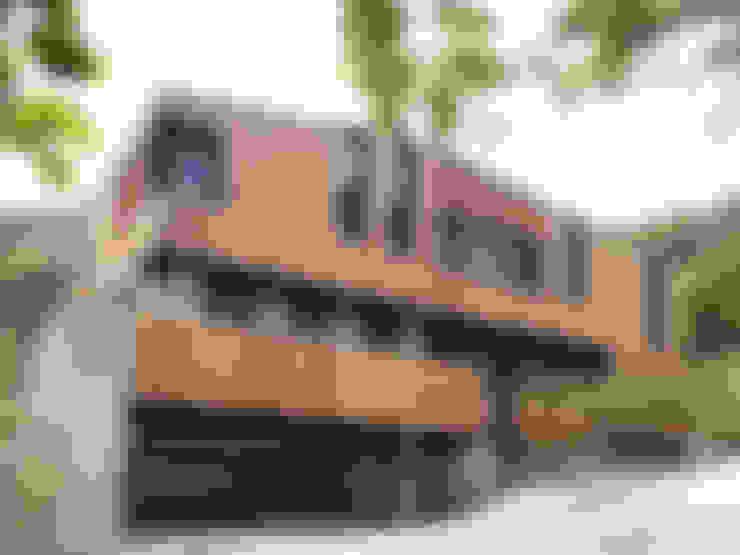 오포읍 단독주택: (주)스튜디오360플랜 의  전원 주택