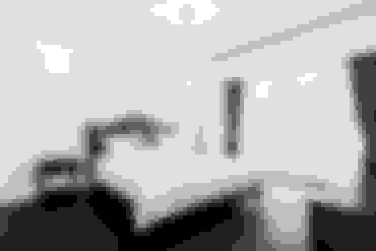 목동 하이페리온 183㎡ 56PY: wid design 위드디자인의  침실