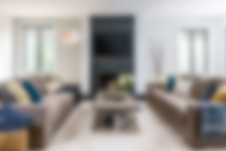 Livings de estilo  por Frahm Interiors
