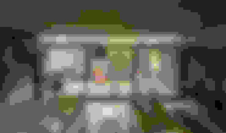 Salas de estar  por Besonías Almeida arquitectos
