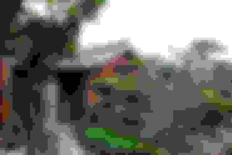 บ้านและที่อยู่อาศัย by 丸菱建築計画事務所 MALUBISHI ARCHITECTS