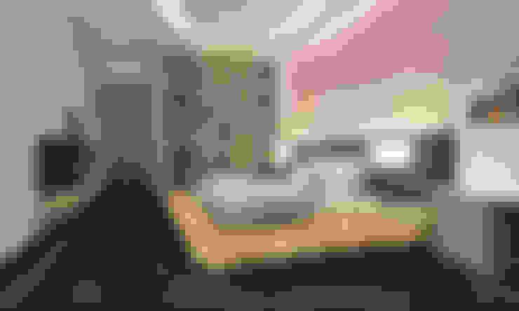 Phối cảnh nội thất tầng 3:  Phòng ngủ by Công ty TNHH Xây Dựng TM – DV Song Phát