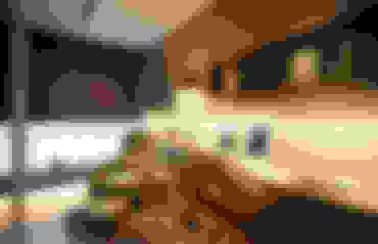Herb HOUSE:  書房/辦公室 by 沐光植境設計事業
