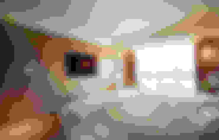 Herb HOUSE:  臥室 by 沐光植境設計事業