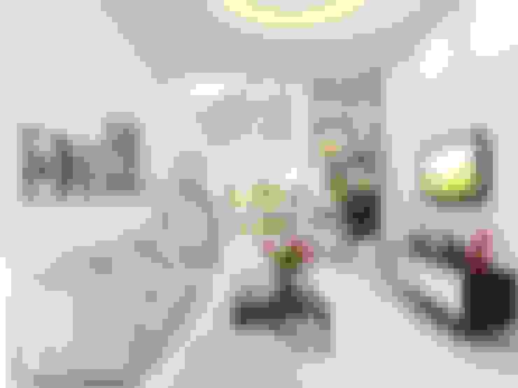 Tư Vấn Thiết Kế Nhà Ống 3 Tầng 67m2 Hiện Đại, Đầy Tiện Nghi:  Phòng khách by Công ty TNHH Xây Dựng TM – DV Song Phát