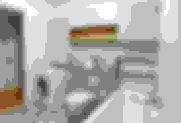 浴室 by KHG Raumdesign - Innenarchitektin in Berlin