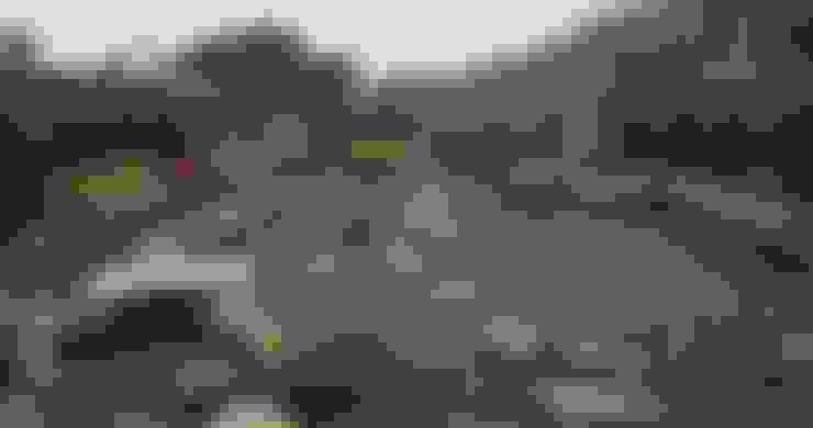 日式造景:  庭院 by 大地工房景觀公司