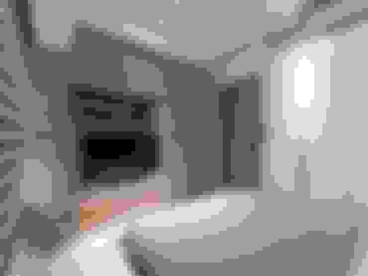 印象‧水舞紀:  臥室 by 楊允幀空間設計