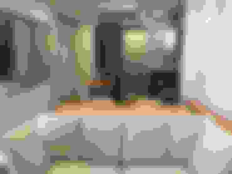 Salones de estilo  de ICONO Projetos e Interiores