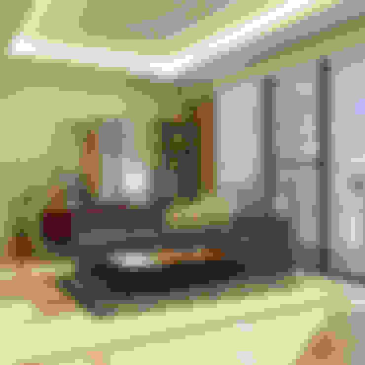 Living Room:  Ruang Keluarga by Noff Design
