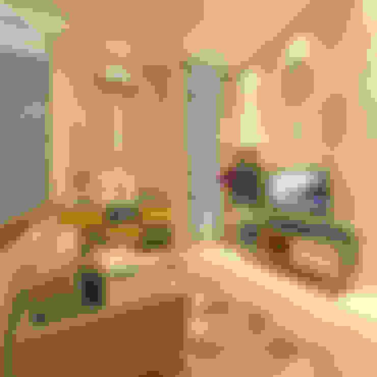 Living room by PT. Dekorasi Hunian Indonesia (DHI)