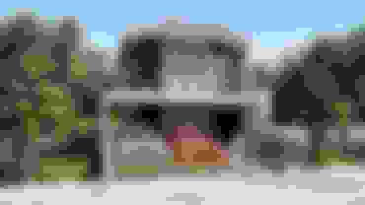 2 STOREY CHIUTEN HOUSE:  Houses by Yaoto Design Studio
