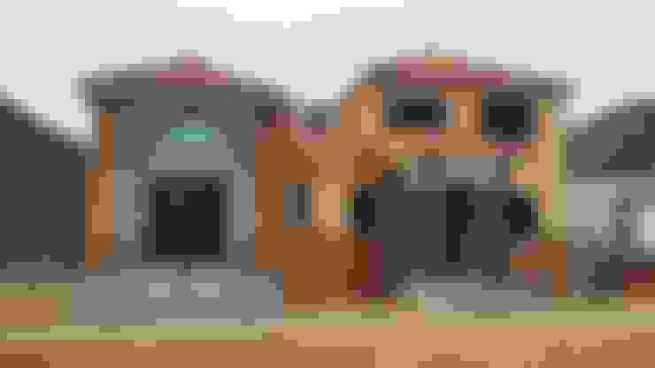 창원 진동리 전원주택: 운화건축사사무소 의  주택