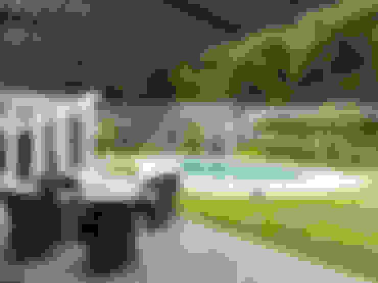 天母泳池別墅會所:  泳池 by ACE 空間制作所