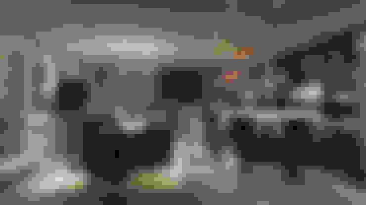 天母泳池別墅會所:  酒窖 by ACE 空間制作所