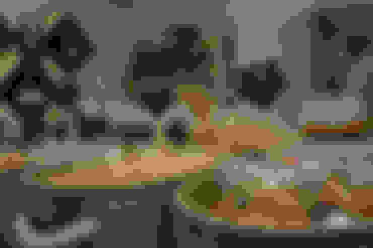 De Bona Pasta: Locales gastronómicos de estilo  de Estudi Aura, decoradores y diseñadores de interiores en Barcelona