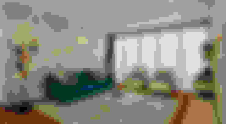 Living room by Luis Escobar Interiorismo