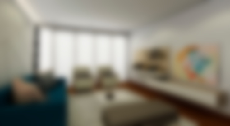 Wohnzimmer von Luis Escobar Interiorismo