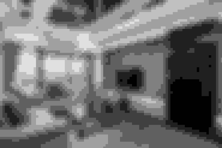 Phòng khách by 唐御品空間設計