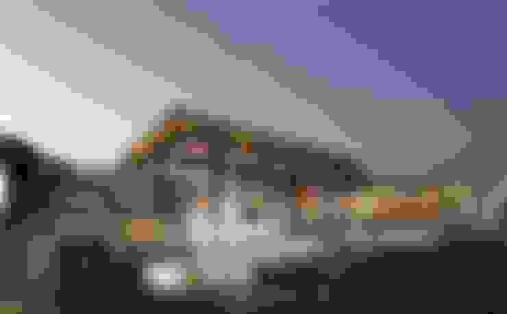 Refugio del hato : Conjunto residencial de estilo  por LATIFF Diseño y construcción