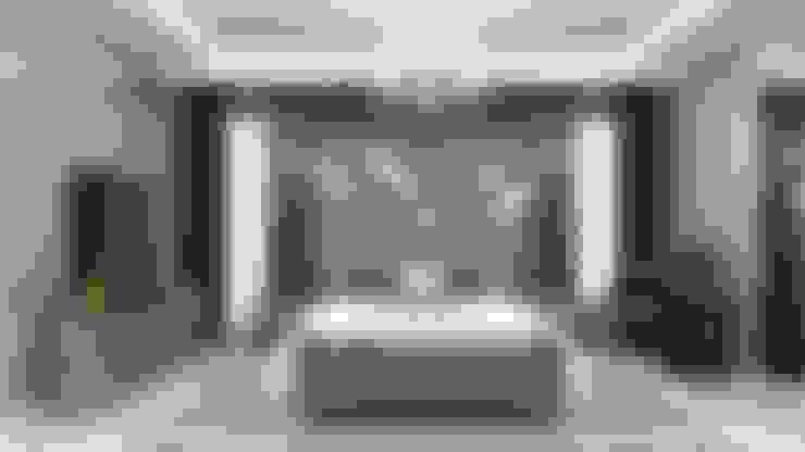 EN+SA MİMARİ TASARIM – örnek daire:  tarz Yatak Odası