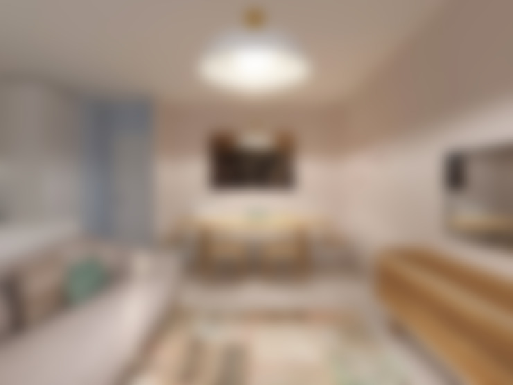 Casa do Zé e da Vanda: Salas de estar  por Homestories