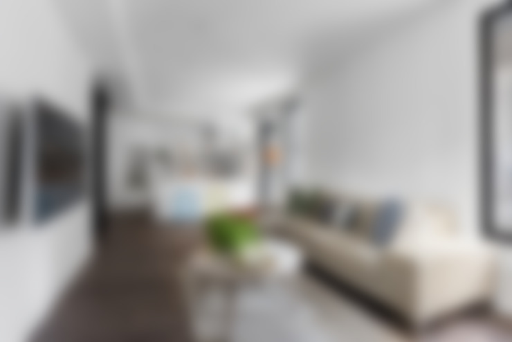 6+1 Pets house:  客廳 by 知域設計