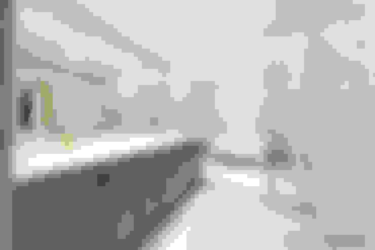 경기도 성남시 분당 까치마을 중앙하이츠 아파트인테리어: 디자인스퀘어의  욕실
