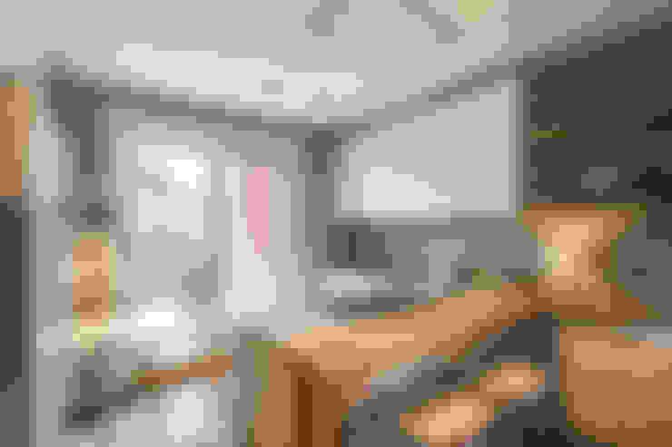 Cocinas equipadas de estilo  por MOB ARCHITECTS