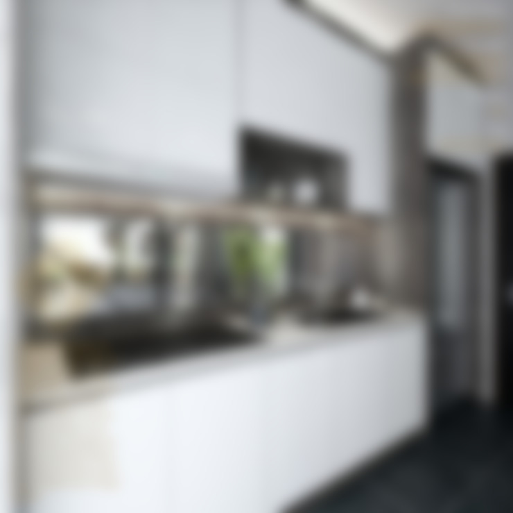 WET KITCHEN:  Kitchen by Enrich Artlife & Interior Design Sdn Bhd