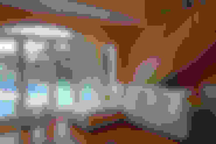 غرفة المعيشة تنفيذ CIBA ARQUITECTURA