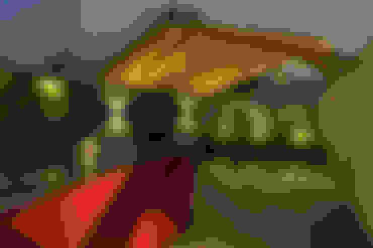 Hiên, sân thượng by HDA: ARQUITECTURA BIOCLIMATICA