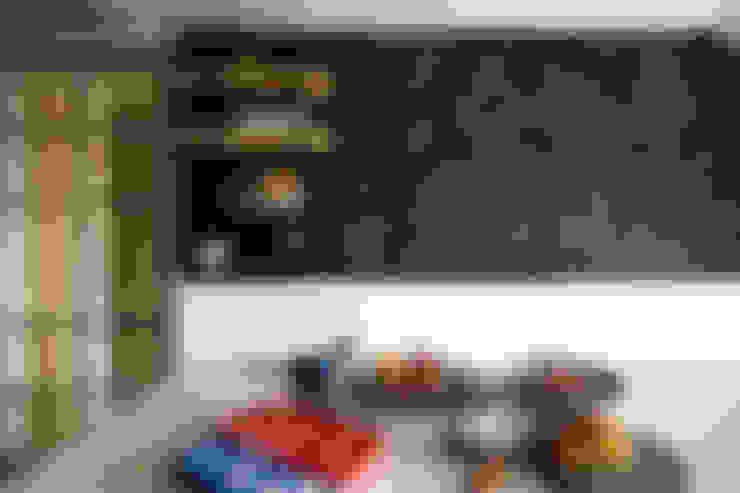 未來兼作為烘焙教室的廚房一隅:  廚房 by 一葉藍朵設計家飾所 A Lentil Design