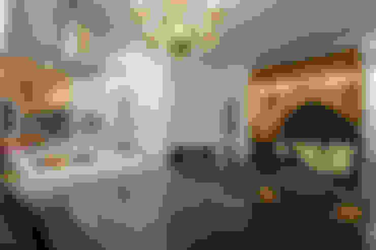 경남 하북면 예술인촌 전원주택: 에스디자인의  다이닝 룸