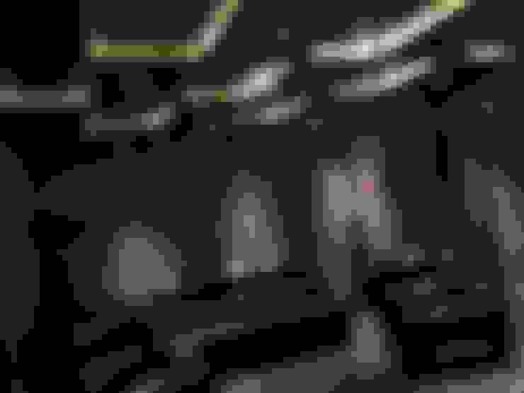 غرفة الميديا تنفيذ Vdezin Interiors