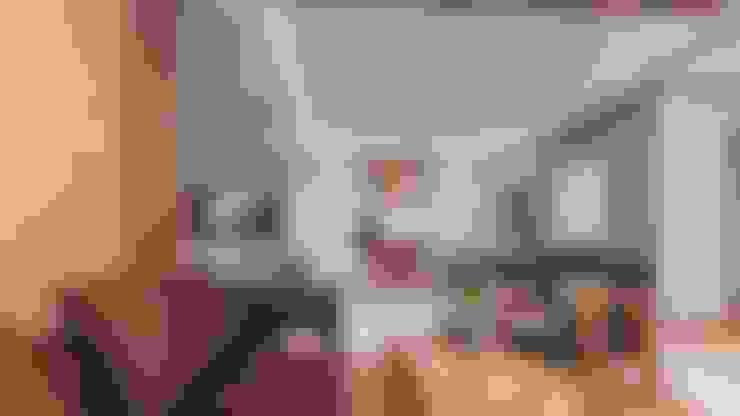 Living room by Công ty ĐT-TV Thiết Kế & Xây Dựng ECO